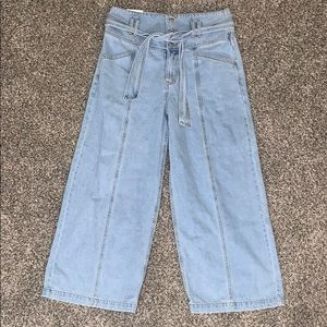 New Forever 21 wide leg jeans size 29